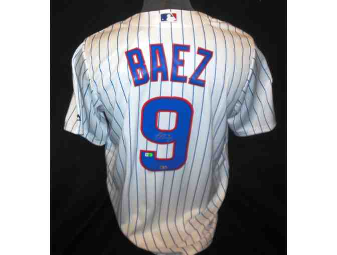 Baseball Chicago Cubs Javy Baez signed jersey