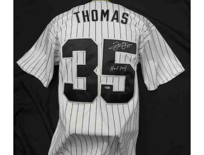 Baseball Chicago White Sox Frank Thomas Jersey with inscription