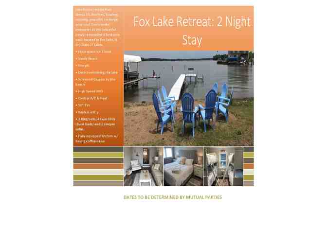 Fox Lake Retreat