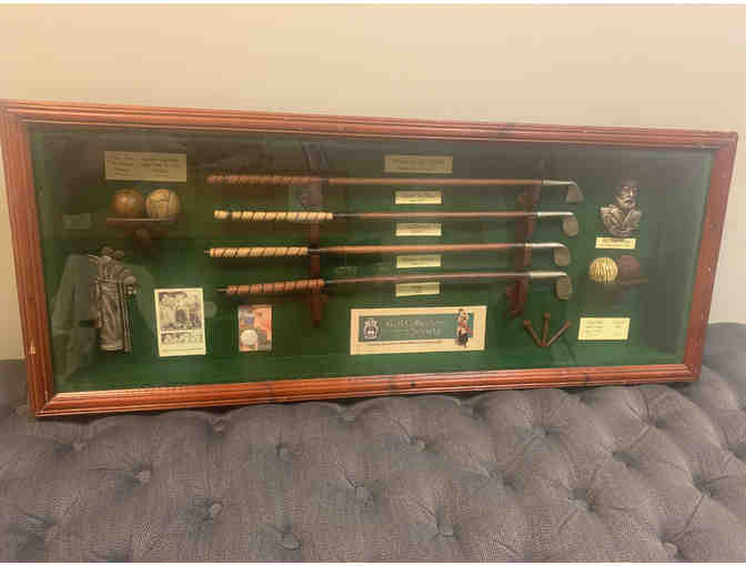 History of Golf Shadow Box