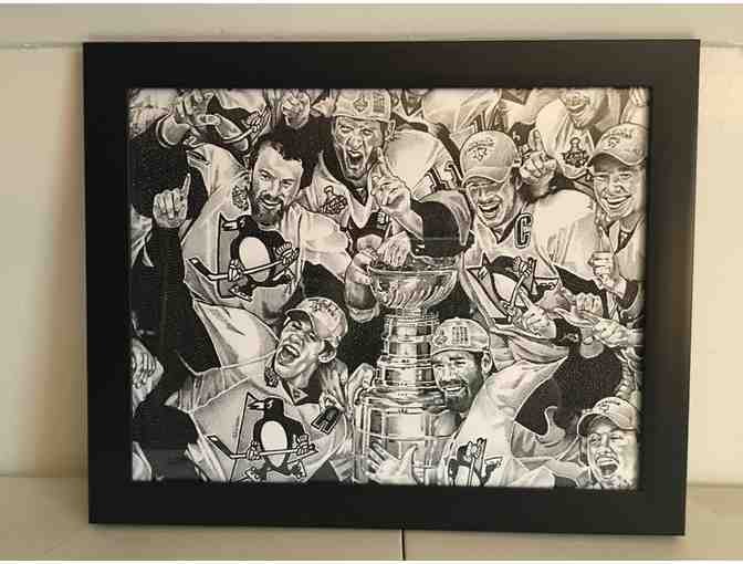 Pittsburgh Penguins 2016 Stanley Cup Print