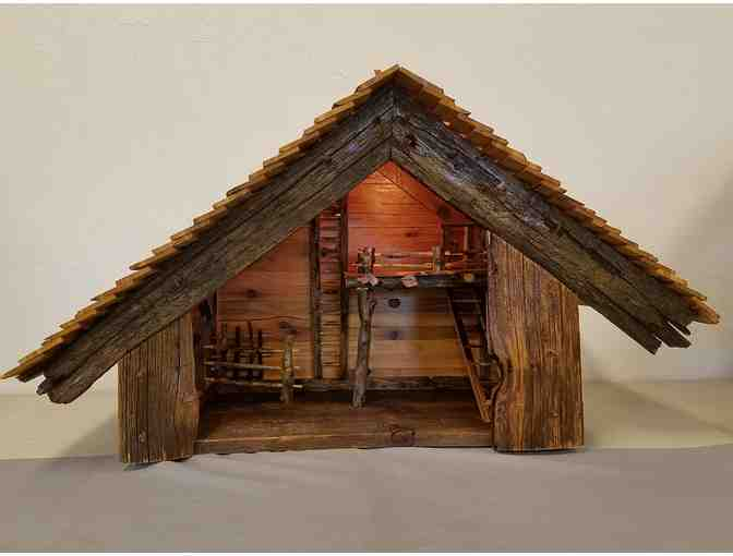 Hand Carved Stable