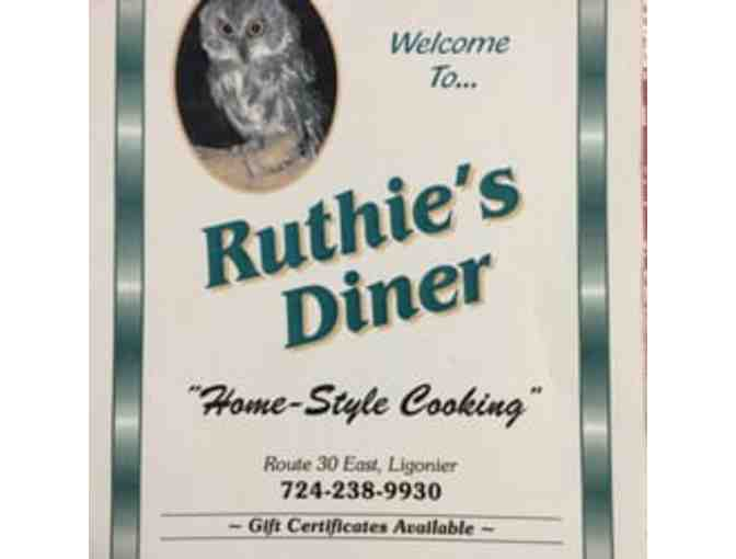 Ruthie's Diner Gift Certificate