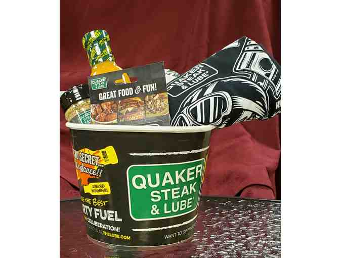 Quaker Steak and Lube Bucket
