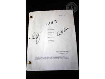 Authentic Autographed LOST Script: 'The Constant' (Signed by Damon L & Carlton C)