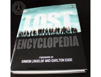 Autographed LOST Encyclopedia 4 (signed by Elizabeth M, Damon, Carlton, Jorge G & more!)