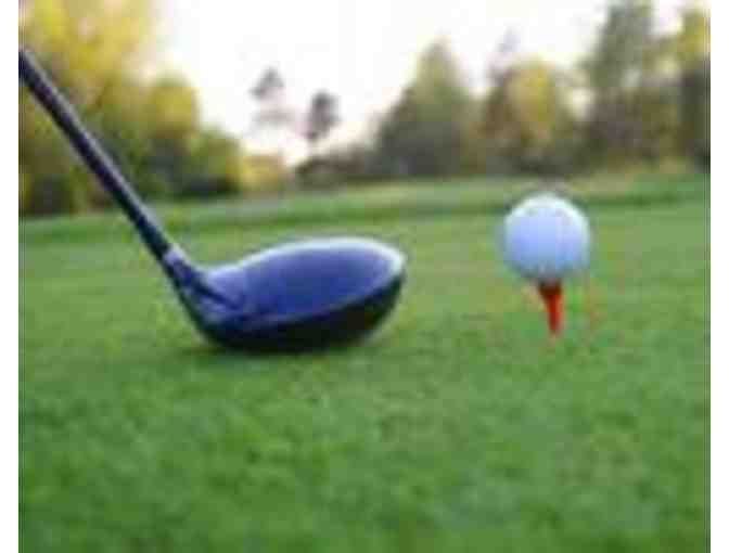 Golf for Three, carts and refreshments at the Brae Burn Country Club