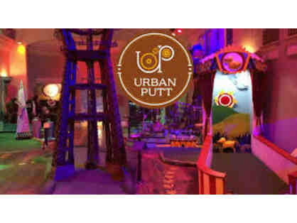 Urban Putt - Gift Certificate for 2 Games of Mini Golf