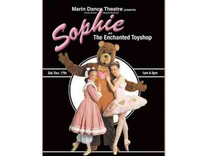 4 tickets to ''Sophie & the Enchanted Toyshop''