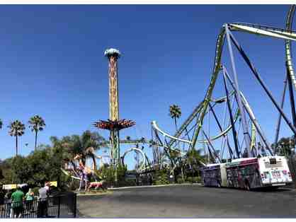 Six Flags Discovery Kingdom - Two Tickets
