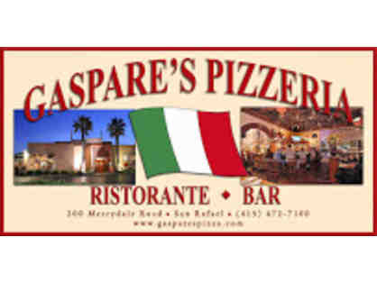 $25 Gift Certificate for Dinner at Gaspare's Pizzeria