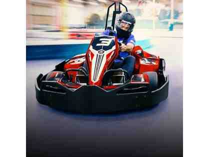 Two Gift Cards for K1 Speed Indoor Go Kart Racing - 1 Race and 1 License Each