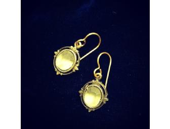 Antique style drop earrings by Tommassini