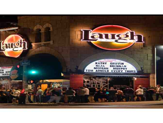 2 Admission Tickets to the Laugh Factory Hollywood - Photo 1