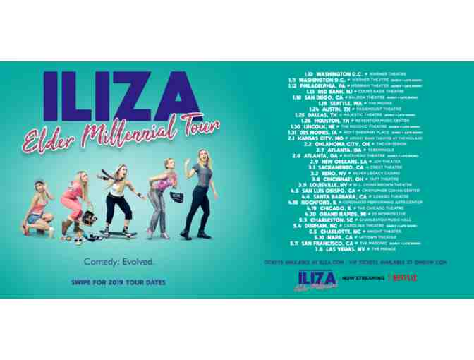 2 VIP Tickets Including Meet and Greet to see lliza Shlesinger - Photo 1