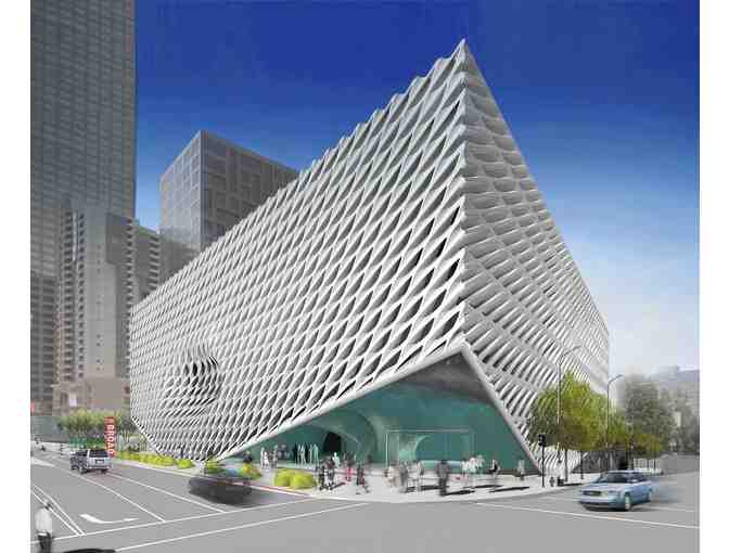 4 VIP Passes For The Broad Museum - Photo 1