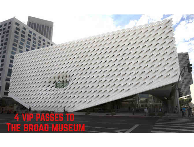 4 VIP Passes For The Broad Museum - Photo 3