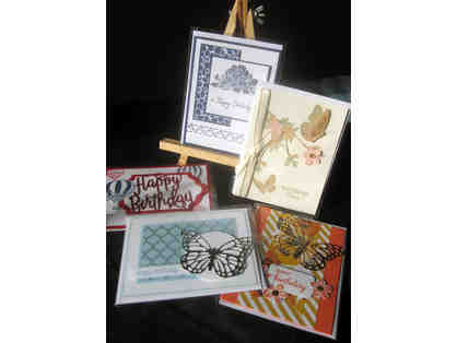 B-07.    16 UNIQUELY HANDCRAFTED CARDS