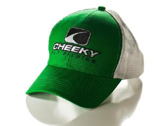Team Cheeky! Double-Haul Casting Shirt (S) and Pro Cap