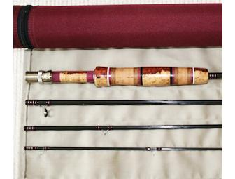 One-of-a-Kind Custom-Built Fly Rod by Dennis Harper