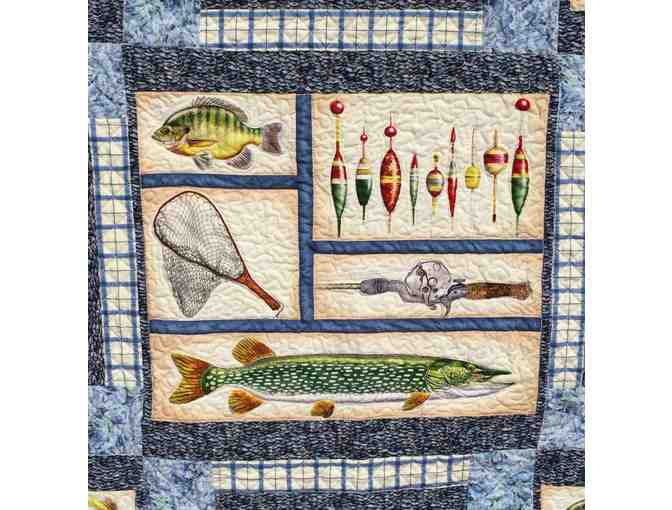 Reel It In Handmade Quilt