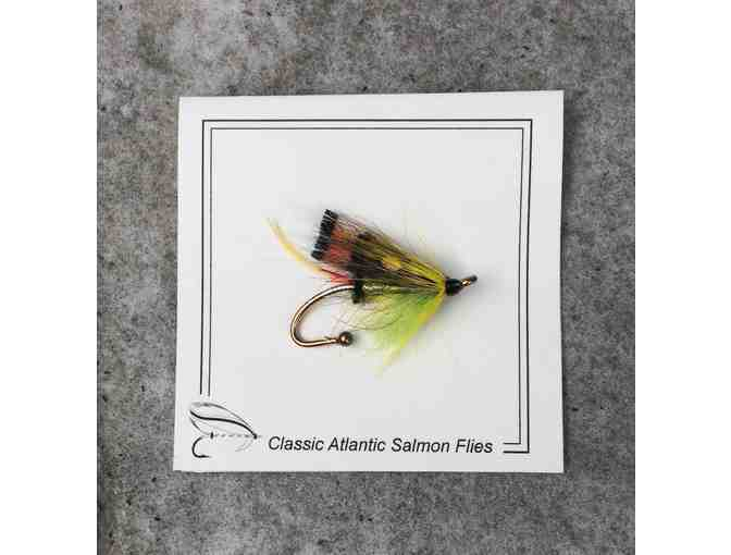 Beautiful Salmon Fly Pin by Larry Antonuk
