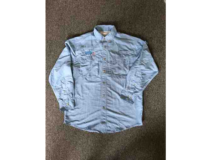 LL Bean Men's Tropicwear Shirt - Size Medium - with CfR Logo