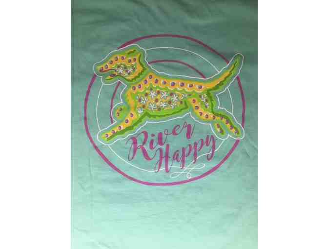 River Happy Hat and Tshirt - XL