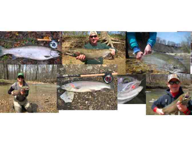 Ohio Steelhead Fly Fishing Guide Trip for Two