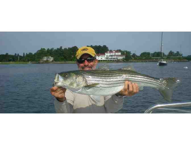 Four hour Guided Fly Fishing Charter in New Hampshire