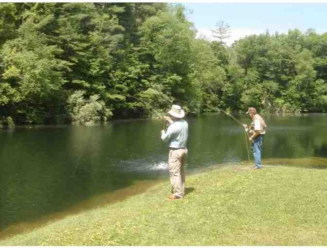 A Day of Fishing at Limestone Trout Club in East Canaan, Connecticut