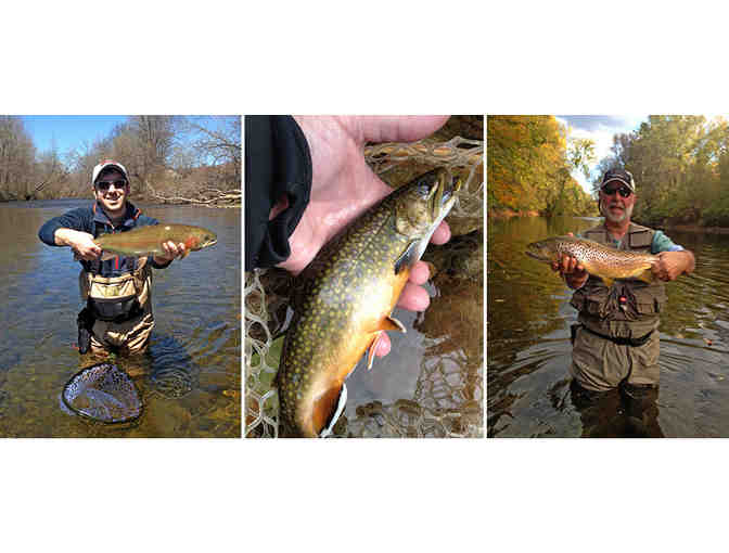 Half-Day Guided Trip for Two Anglers in SW Vermont and Eastern NY