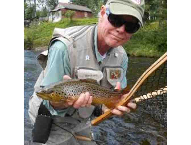 Lower Litchfield County River in Connecticut - 1/2 day guided fishing trip for One