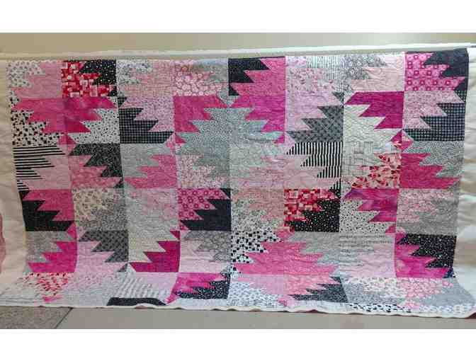 Beautiful Quilt Throw Created by a CfR Alumna