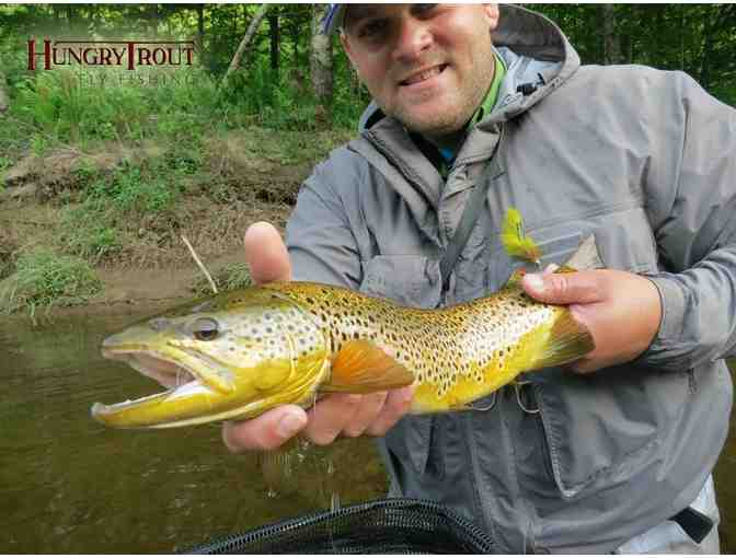 Half-Day Guided Wading Trip for Two on the Ausable River in the Adirondacks