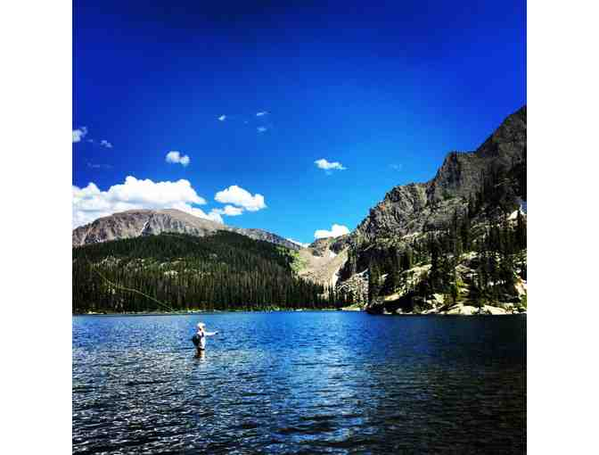 Lillard Fly Fishing Expeditions in Rocky Mountain National Park in Colorado