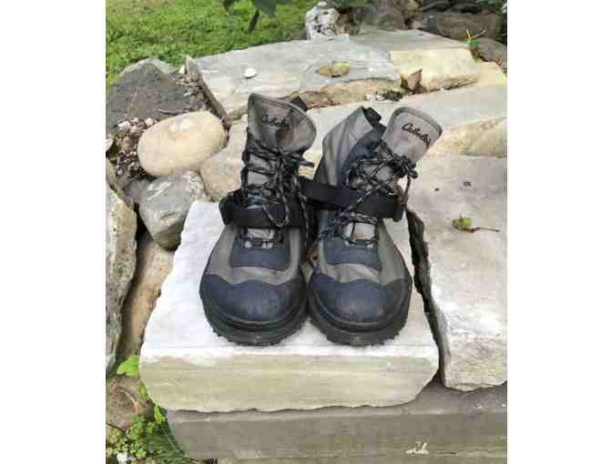 Cabela's Wading Boots in Men's Size 9 - Lightly Used - Photo 1