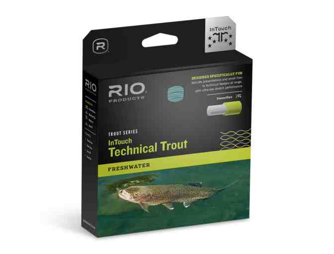 Sage Click Series reel PLUS Rio InTouch Technical Trout line