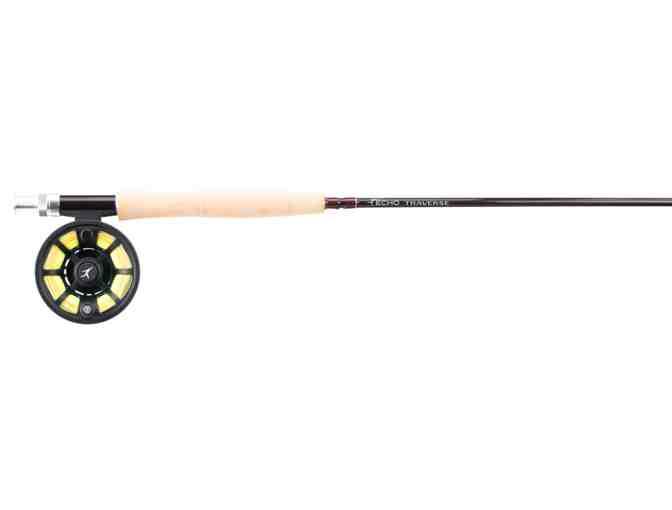 Echo Traverse Kit- Rod, Reel, Line, and Leader - 9' 4 wt Rod - Photo 1