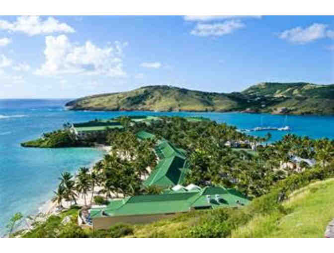 Three (3) rooms, Seven (7) nights at the St. James Club in Antigua