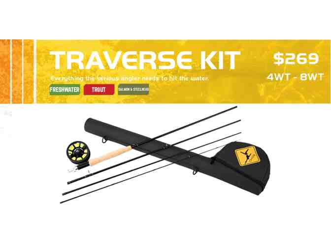 Echo Traverse Kit- Rod, Reel, Line, and Leader - 9' 4 wt Rod - Photo 2