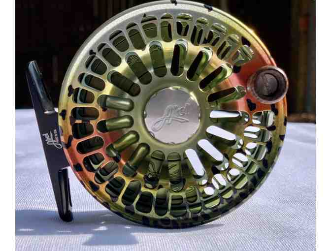 ABEL TR 4/5 FLY REEL - NATIVE RAINBOW