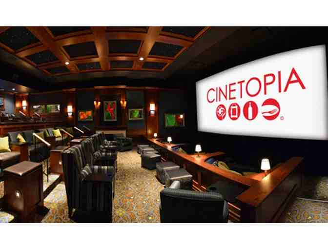 Two (2) Cinetopia Movie Tickets