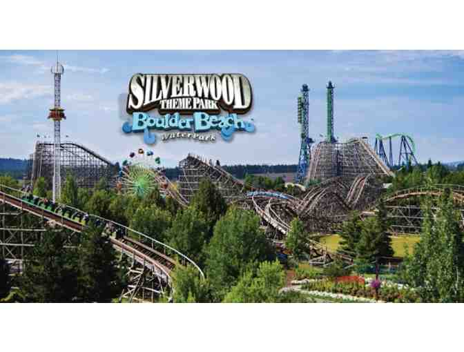 Two (2) One-Day General Admission Tickets to Silverwood Theme Park