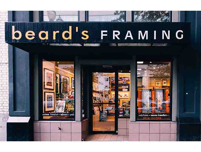 $100 Gift Certificate to Beard's Framing