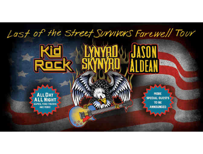 "Lynyrd Skynyrd ""Last of the Street Survivors Farewell Tour"" - Sept 2 Jax, FL-Terrace Suite - Photo 1"