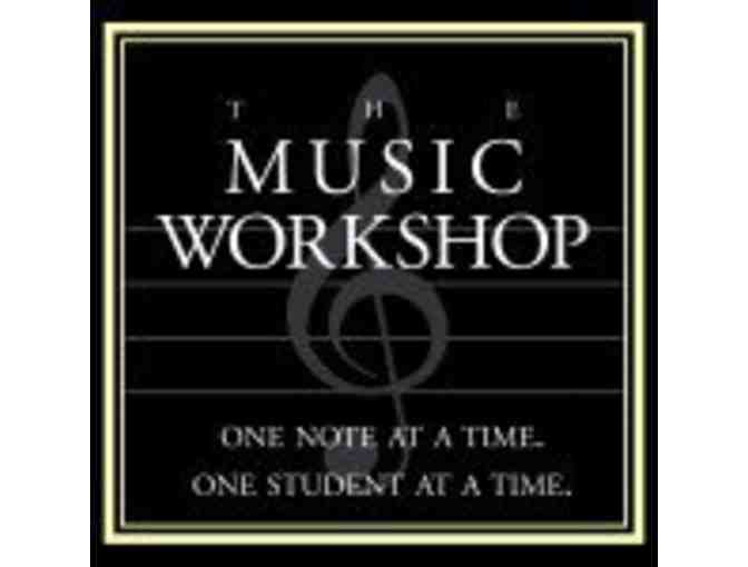 One Month of Music Lessons at Music Workshop