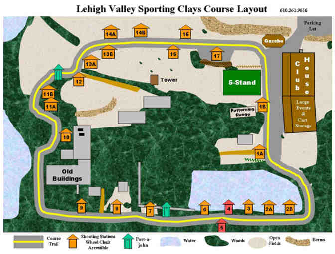 1 Round of 100 Clay Targets at Lehigh Valley Sporting Clays - Photo 2