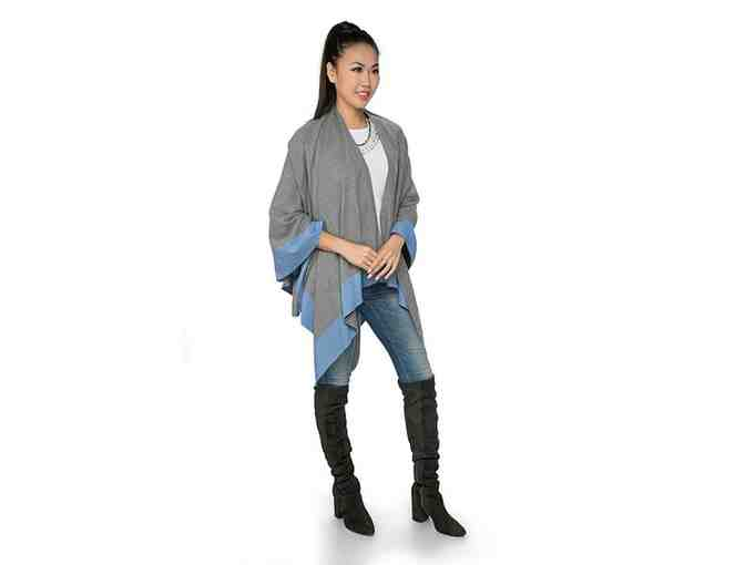 Blue & Gray Wrap from Top it Off - Photo 1