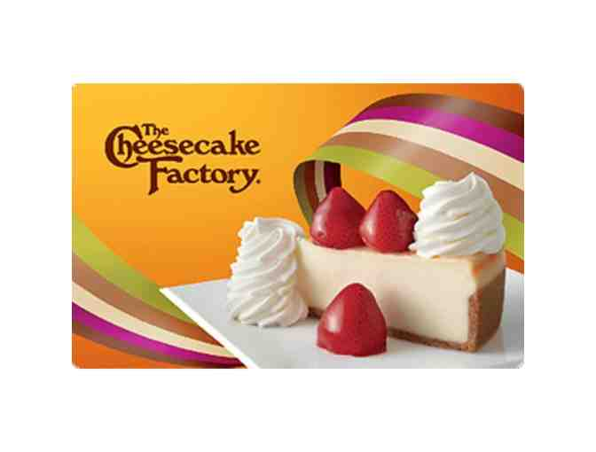 $50 Gift Card to the Cheesecake Factory